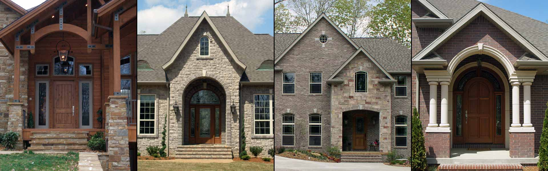 4 Images of Custom Home Entrances built by Bryan Bell Construction, Inc.
